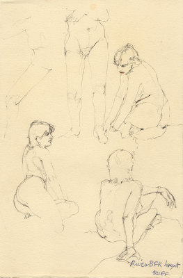 Five Minute Life Drawings 1985